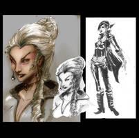 Jeannette Black Alice Designs by Peter-v-Nguyen