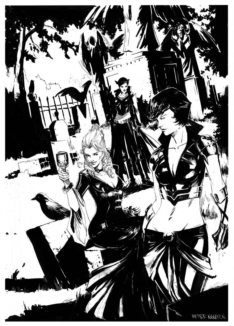 One Half of a secret six is by Peter-v-Nguyen