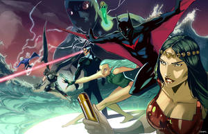 Justice League BEYOND by Peter-v-Nguyen