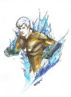 Aquaman by Peter-v-Nguyen