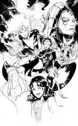 The Women of the dark phoneix saga by Peter-v-Nguyen