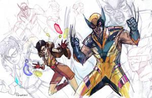 Wolverineandjubilee by Peter-v-Nguyen