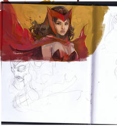 Scarletwitch sketchup by Peter-v-Nguyen