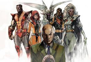 X-men Team Gold by Peter-v-Nguyen