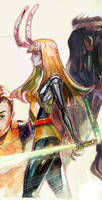 magik new mutants by Peter-v-Nguyen