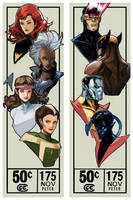 classic xmen by Peter-v-Nguyen