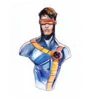cyclops water color by Peter-v-Nguyen