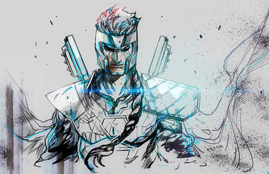 Shatterstar Blackwhite Instagram by Peter-v-Nguyen