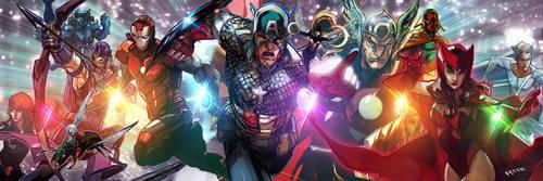 avengers forever by Peter-v-Nguyen