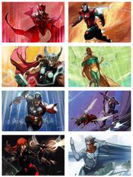 Avengers by Peter-v-Nguyen