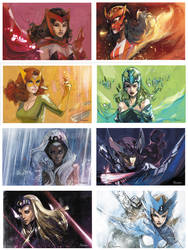 mutant women of the world by Peter-v-Nguyen