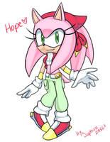 Hope The Hedgehog by Saphira24667