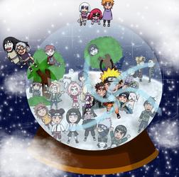 Naruto Snowglobe 2018 version by Azure-e