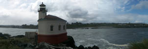 the lighthouse at bandon by alexvontolmacsy