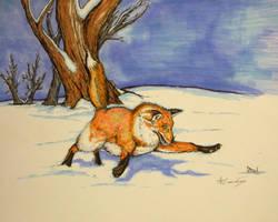 fox attack by alexvontolmacsy