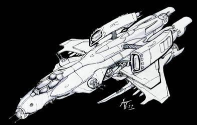 space b-17 by alexvontolmacsy