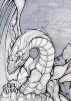 a dragon by alexvontolmacsy