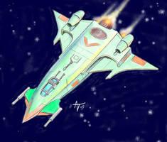 wing commander scimitar. by alexvontolmacsy