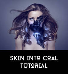 Skin Into Coal Tutorial by AbbeyMarie