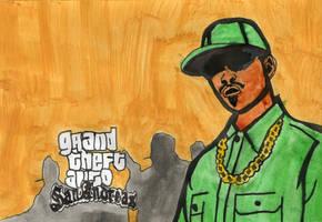 Grand Theft Auto's CJ by MissAmyLovett