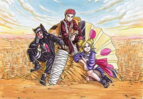 Suna no Shinobi-Colored by ritam