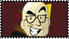 Northernlion stamp by TeleviCat