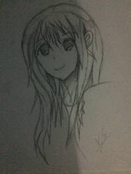 Anime Girl Attempt by VeyronSliferPlatinum