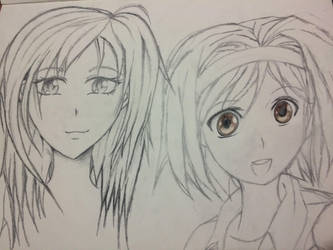 Anime Girls by VeyronSliferPlatinum