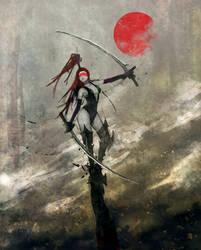 Red Moon Slayer by slyvanie