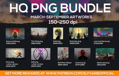 alot of PNG files by slyvanie