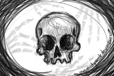Skull Stuff by MetallicDynamite
