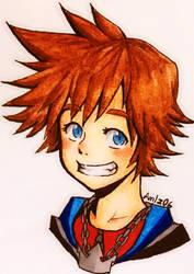 Kingdom Hearts: Sora by AmIz06