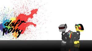 Daft Pony Wallpaper by seyrii