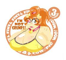 Tania Sticker by Chooy64