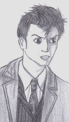 Angry David Tennant by LordXwee