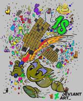 Happy 18th Birthday Deviant Art! by draenei-friend