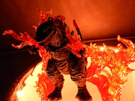 Shin Godzilla-Spirit of Fire by draenei-friend