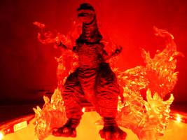 Shin Godzilla-Fire King by draenei-friend