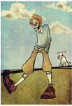 Tintin by onegreyelephant