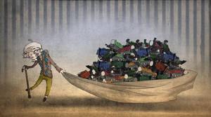 unfathomable hoard by onegreyelephant