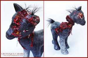 My Little Zombie Pony by onegreyelephant