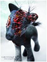 My Little Zombie Pony II by onegreyelephant