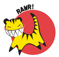 rawr 2 by onegreyelephant