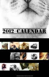2012 calendar by onegreyelephant