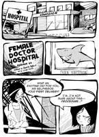 Female Doctor Hospital p1 by onegreyelephant