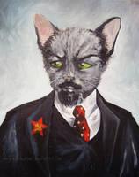 Lenin by onegreyelephant