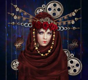 Auric Princess-by-GothLyllyOn-MayMMXVII by GothLyllyOn