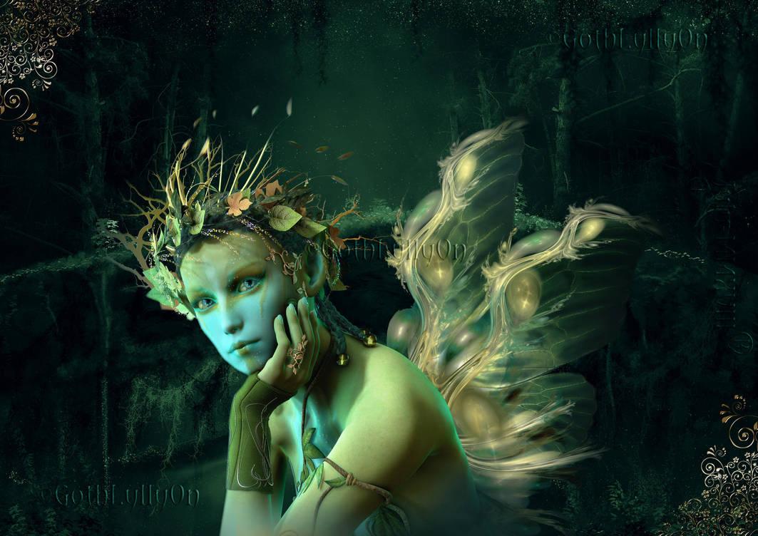 Enchanted Sylphs -by-GothLyllyOn-JulyMMXVIII by GothLyllyOn