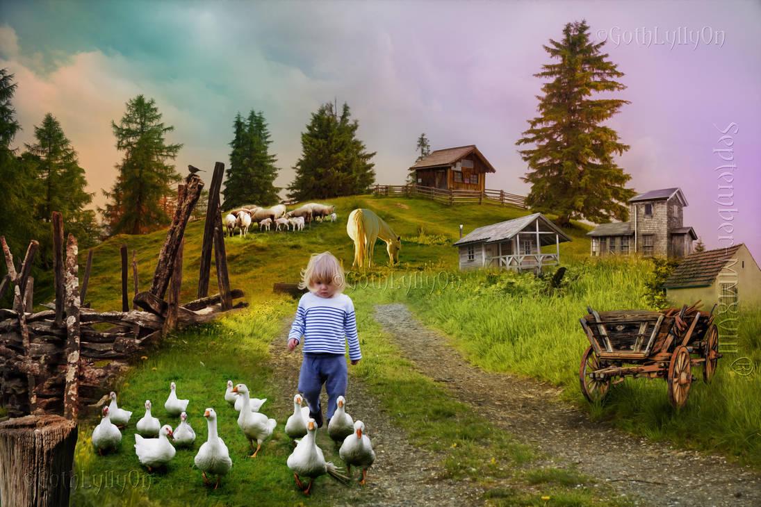 Farm Life-by-GothLyllyOn by GothLyllyOn