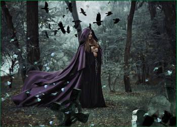 On Eve of Halloween-by-GothLyllyOn by GothLyllyOn